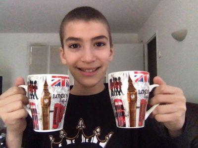 Herblay Collège Isabelle Autissier Liam prend son petit-déjeuner à Londres tous les matins :-)))