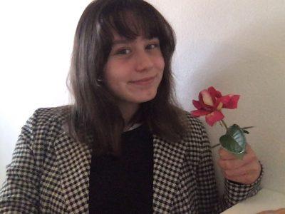 Pau, Saint Dominique. J'ai choisie la rose car c'est l'emblème de l'Angleterre.