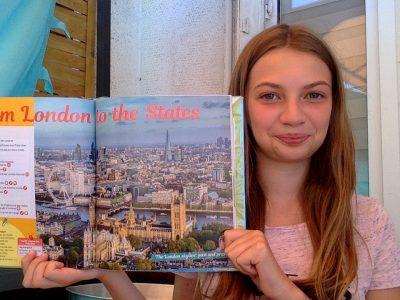 Rouen college Jean Lecanuet  J'ai hâte de visiter Londres