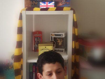 Montrouge Robert Doisneau  Nous aimons beaucoup Harry Potter on s' imagine bien là-Bàs