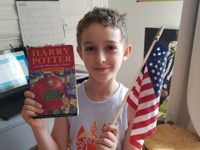 Paris, Collège Pierre Alviset I'm a fan of Harry Potter and the United States of America