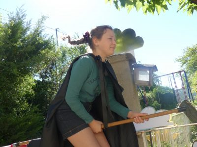 Dans le ciel de Valence, je m'entraîne pour faire gagner le  Collège Saint Victor. Sixtine  CC