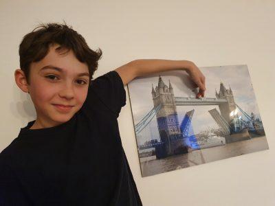 La Garenne Colombes - Collège Les Vallées - Comment marcher sur Tower Bridge