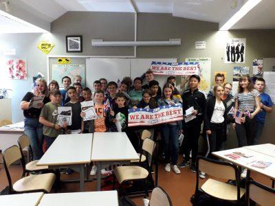SAINT NICOLAS DE PORT, Collège Saint Exupéry La remise des pris aux élèves les mieux classés parmi les 210 inscrits !