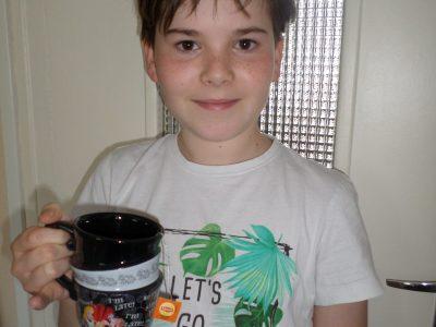 Le Mans collège Léon TOLSTOÏ   I drink at tea time !!!
