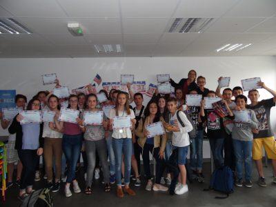 Les 4° du collège St Nicolas de Tiffauges (85) ont été ravis de participer pour la première fois au Big Challenge ! A great experience for everybody!