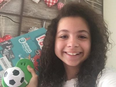 Hey! I am Sabrina from Albert Camus in Dreux!  Football is my cup of tea  :)    #Englishbook#GBT-shirt#EnglishBooks#Football  take care and stay safe! Sab