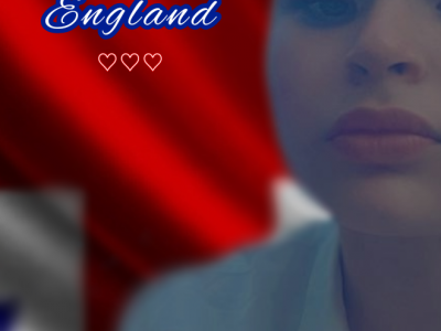 LAROCHELLE   Fénelon Notre-dame  Here a selfie of me with an English flag as a background