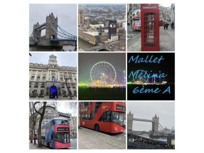 Collège saint joseph Hondschoote,  Je vous partage quelques photos de mon séjour à Londres.