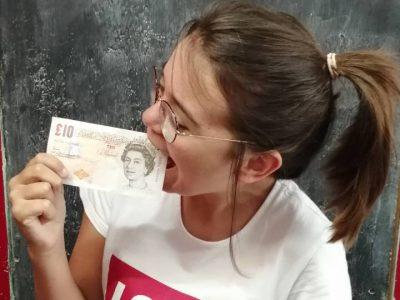 Je mort l'argent à pleine dents !! Faustine Couppey-Sudre Collège Paul Harel ,Rémalard