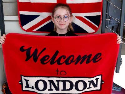 Chevigny-Saint-Sauveur / collège Camille Claudel  Mon rêve est de visiter Londres  pour que le texte de ma photo se réalise