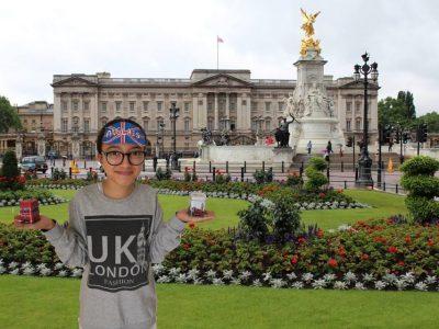Collège Jacques Prévert, Andrézieux Bouthéon. Malgrès le cofinement, voici une photo de ma visite (de chez moi) du Buckingham Palace.