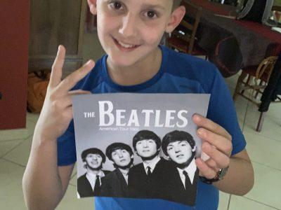 Évron collège Paul Langevin , Quoi de plus symbolique dans la culture musicale Anglaise que les Beatles ??