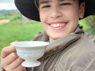 Limoges - Collège Ozanam  Hi, It's the tea time !