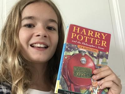 Valenciennes, collège Saint Jean Baptiste de la Salle, Harry Potter is my favourite book!