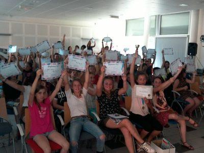 Collège de Fontreyne GAP (05) Wow...151 pupils, what a success! See you next year ;)