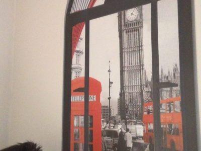 Balaruc le vieux Collèges Olympe de Gouges Commentaire: Une vue imprenable de ma chambre sur Londres