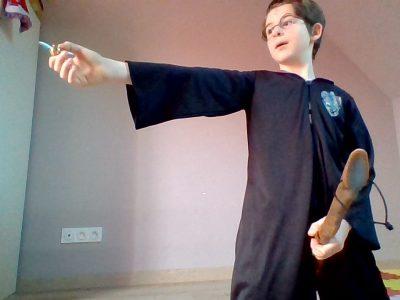 Ville : Athis-Mons Collège : Saint-Charles . L'élément anglais c'est quand Harry Potter attrape son premier vive d'or . Je men suis dit que il y a un musée Harry Potter en Angleterre donc pour moi c'est un élément anglais .