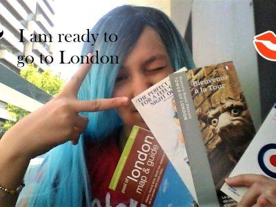 PARIS au Collège Saint VINCENT. Toujours prête pour l'anglais...ou pour des vacances à Londres!