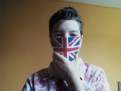 Sucy en Brie - collège du Parc Déconfinement, sortez couvert avec un masque de Londres