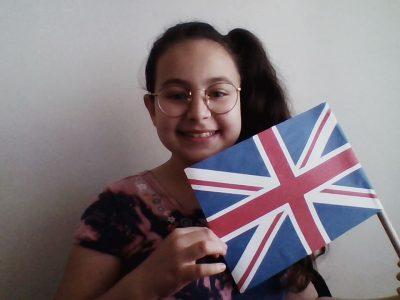 IVRY SUR SEINE . COLLEGE GEORGE POLITZER Je voulais representer le drapeau d'angleterre parce que j'aime beaucoup l'anglais