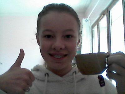 COULOMMIERS COLLEGE HIPPOLYTE REMY Une petite tasse de thé pour se détendre après le challenge...