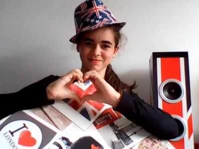 MANDUEL 30129 - COLLEGE VIA DOMITIA I love London !! Rock Forever...