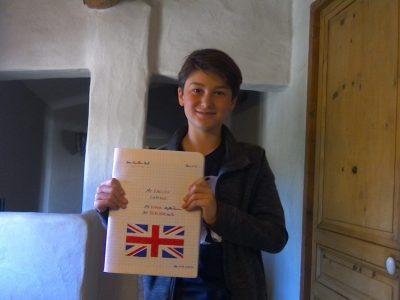 Ville : Rognonas  Collège : Alpilles Durance L'anglais à la maison c'est génial.