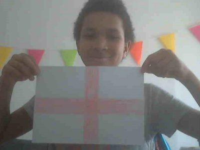 Enghien-les-Bains  Notre-Dame-Providence  Le drapeau de l'Angleterre