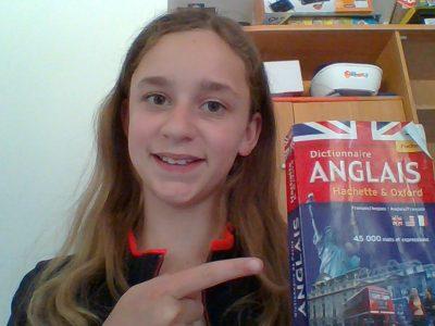 GY Collège Raymond Gueux  Je lis 5 pages tous les jours pour mémoriser l'anglais!
