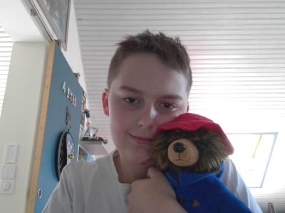 Compiegne, Collège Jean Paul 2, Here is Padington my best teddy