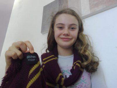 Savenay,Collège St Joseph  Mon écharpe vient des studios Harry Potter et sa vient de Londres  C'est super  j'aime bien