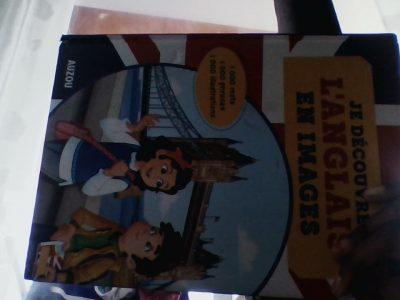 Collège George Politzer Ivry sur seine   c'est un livre d'anglais dedans il y a des images et des textes en Anglais et en Français pour apprendre à parlé en Anglais .