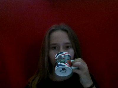 Bruay sur l'Escaut, collège Jean Macé,  ma petite boisson chaude dans cette tasse d'Angleterre