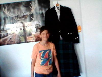 Voiron collège saint joseph    A full scottish kilt outfit