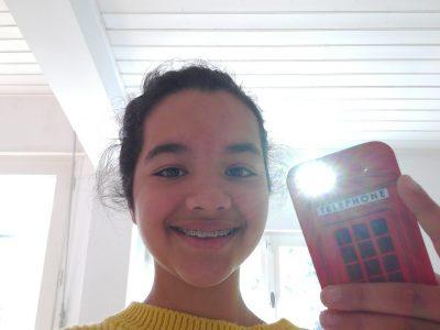 Nantes Externat des enfants nantais  Je téléphone dans ma cabine telephonique