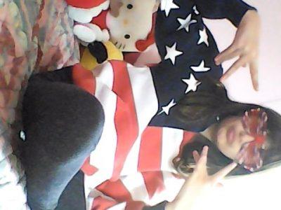 Voiron, saint joseph, 6°A, Tania Chablain sweet et lunette drapeau américain :) ;) :) ;)