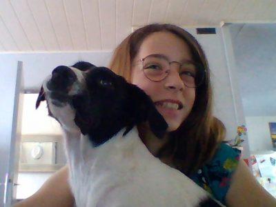 collège notre dame st pierre la cour   BIG CHALLENGE realiser avec swiz (mon chien) magifique soutient