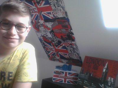 Saint Pierre La Cour- collège Notre-Dame It's my London bedroom !!!