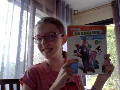 Collège Sévigné St Louis Issoire. J'adore l'anglais et se que j'aime par dessus tout c'est mon Workbook.