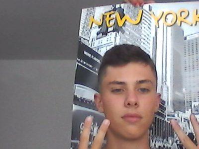 Cazouls-les-béziers 34370 JULES FERRY je rêve d'aller à NEW YORK