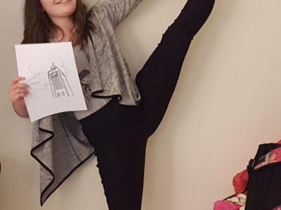Poitiers Collège Henri IV gymnastic girl