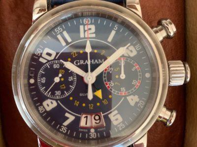 photo d'une montre d'un horloger anglais Graham né en 1673   St Vincent Brest