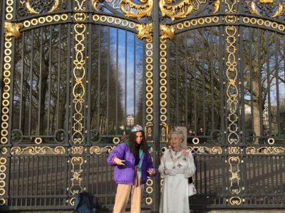 Lille Collège Franklin      Iconic la reine d'Angleterre