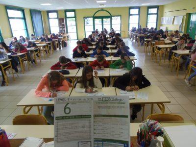 Collège de la Maine, Aigrefeuille-sur-Maine. 130 élèves cette année, nous espérons des gagnants! Bravo à tous les participantes et participants.