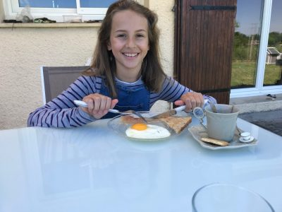 SAINT LOUBES COLLEGE MAX LINDER  I love English breakfast !