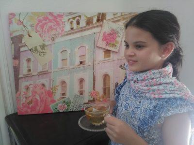 "L'ETANG SALE - COLLEGE SIMON LUCAS ""I love to drink tea"""