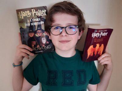 CHALONNES SUR LOIRE COLLEGE SAINT JOSEPH L'ARMANGE Pendant le confinement j'ai décidé de relire Harry Potter et en plus ils ont passé les films à la télé