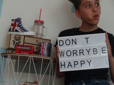 °Don' t worry be happy° Jules Renard, Laval  Maïwenn FREMONDIERE ~ 4emeF