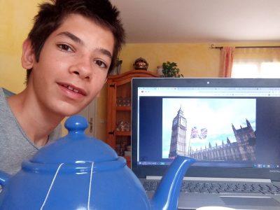 Ville: Saint Martin du Var Collège: Ludovic Bréa Du thé anglais et une photo de Big Ben voila ma photo pour ma participation.